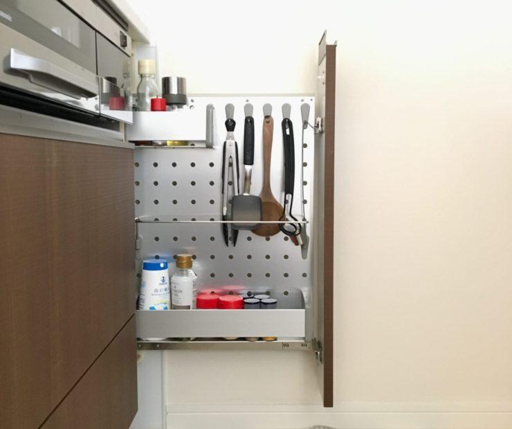 収納が少ないセミオープンキッチンでも、ごちゃっとしたくない。ミニマリストの台所事情。