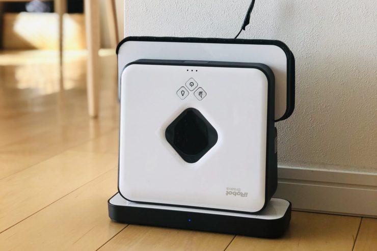Rentioで気になる家電をレンタル体験!ブラーバ380Jの購入を検討する為に1週間借りてみた。